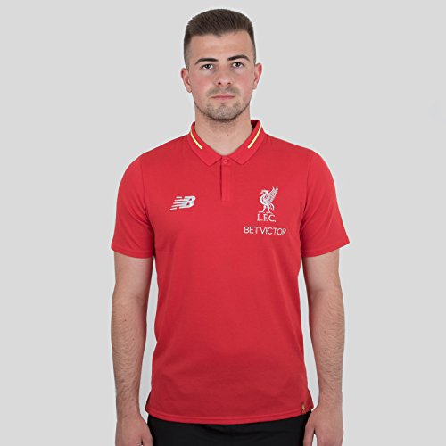 403f98e5c New Balance Liverpool FC 18/19 Elite Leisure Football Polo Shirt - RCR by  New Balance - Fields Of Anfield Road